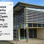 Open Evening Promotional Flyer