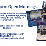 Sixth Form Open Morning Flyer for Website 002